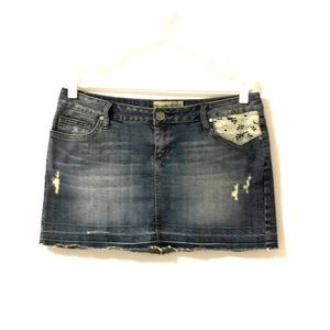 American rag denim skirt size 9